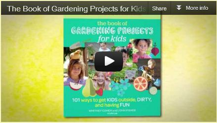 The Book of Gardening Projects for Kids