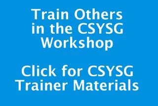 Train other in the CSYSG Workshop