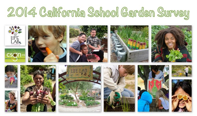 Take the California School Garden Survey